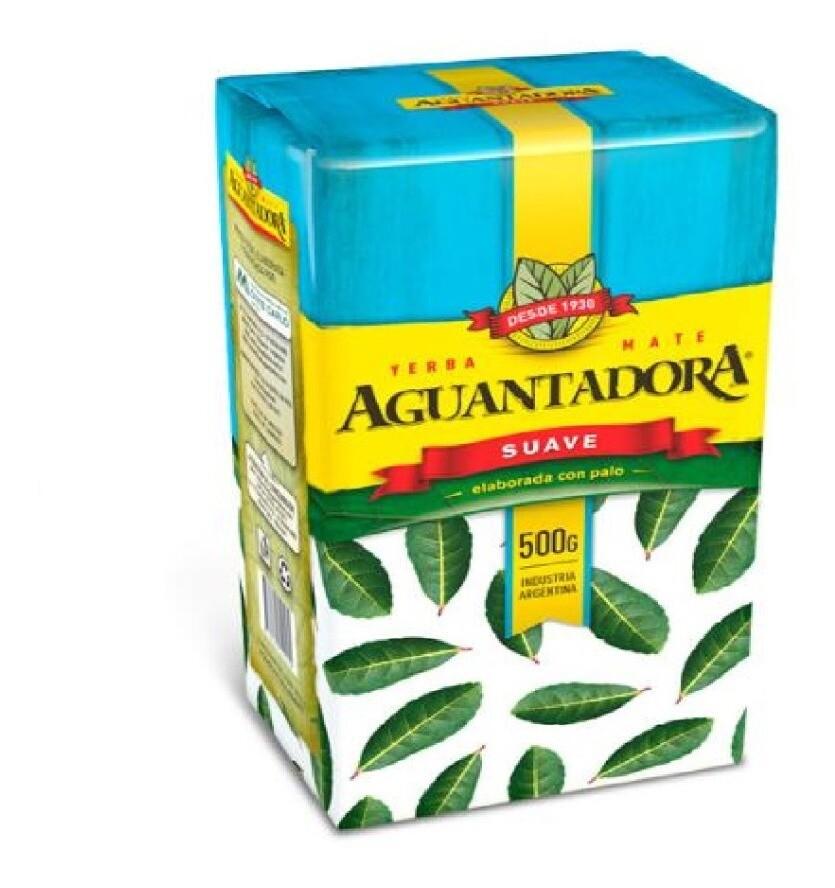 YERBA MATE SUAVE, AGUANTADORA, 500 gr