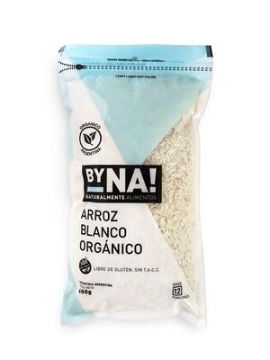 ARROZ BLANCO ORGANICO, BYNA, 600 gr