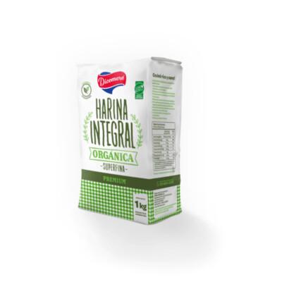 HARINA DE TRIGO INTEGRAL, DICOMERE, 1 kg