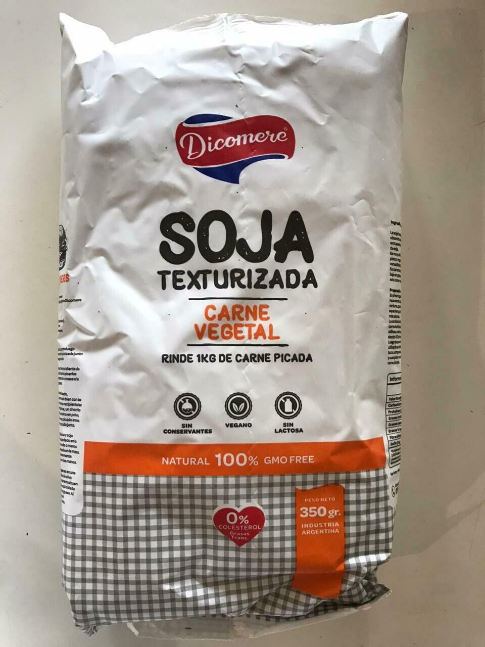 SOJA TEXTURIZADA, DICOMERE, 350 gr