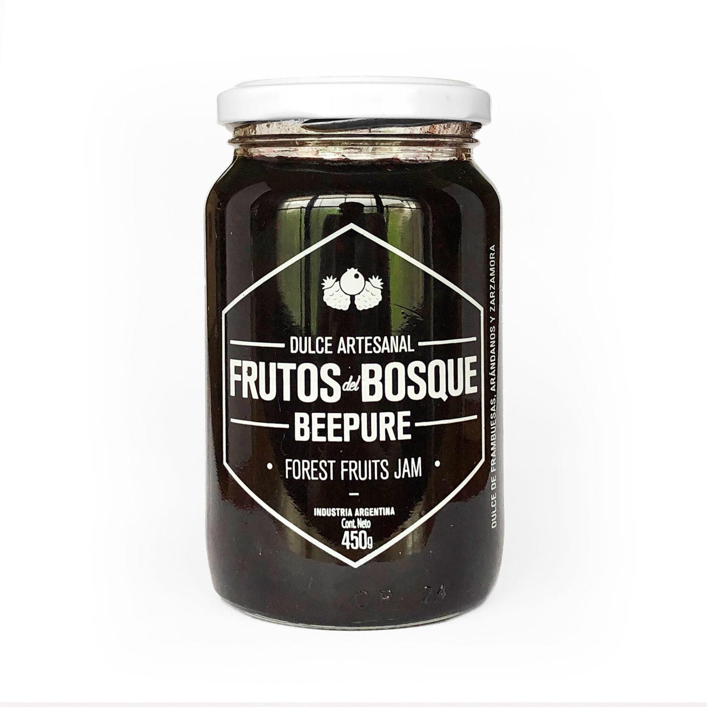 DULCE DE FRUTOS DEL BOSQUE, BEEPURE, 450 gr