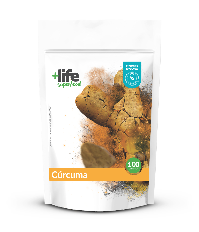 CURCUMA MOLIDA, + LIFE SUPERFOOD, 100 gr