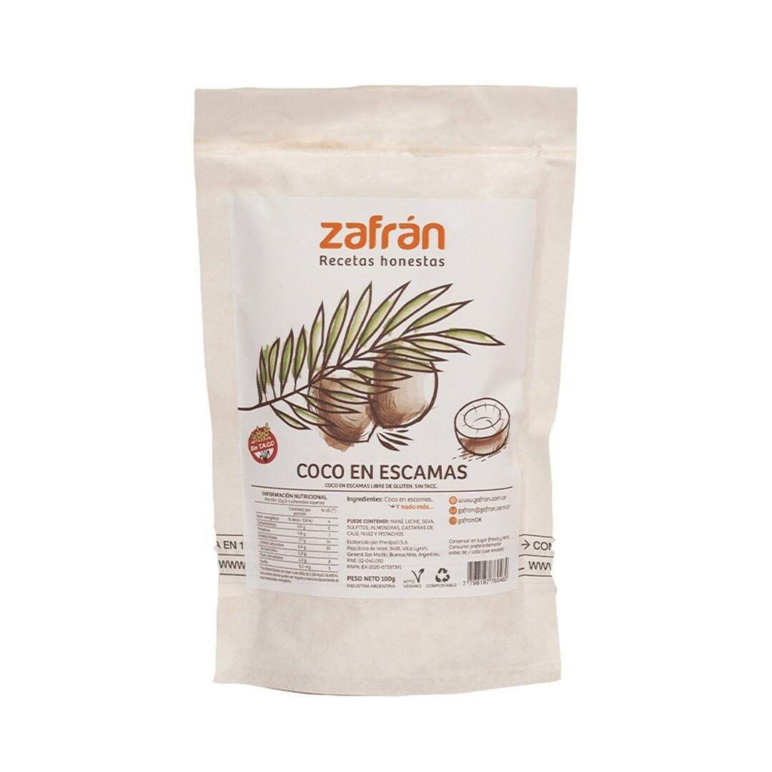 COCO EN ESCAMAS, ZAFRAN, 100 gr