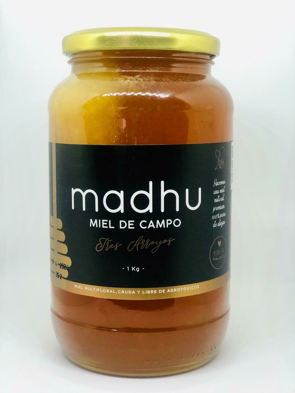 MIEL LIQUIDA, MADHU, 1 kg