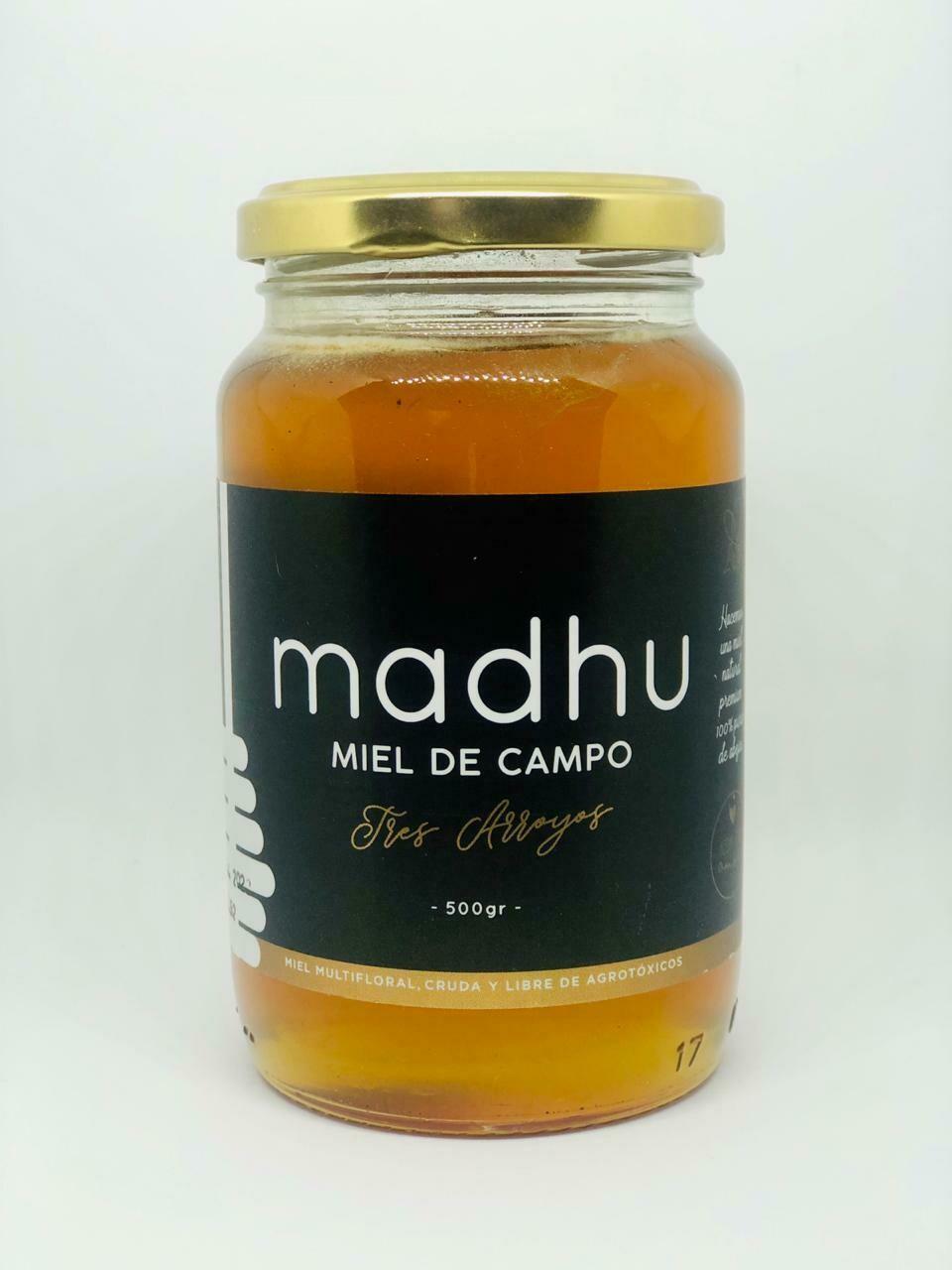 MIEL LIQUIDA, MADHU,  500 gr
