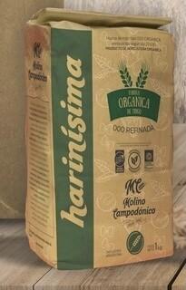HARINA ORGANICA DE TRIGO 000, HARINISIMA, 1 kg