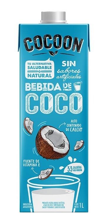 LECHE DE COCO, COCOON, 1 lt