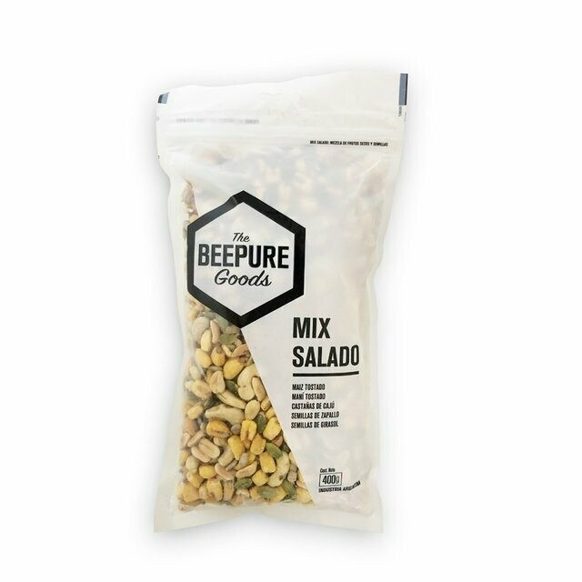 MIX SALADO, BEEPURE, 400 gr