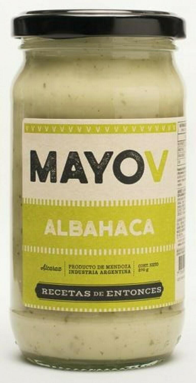 MAYONESA VEGANA SABOR ALBAHACA, 270 gr