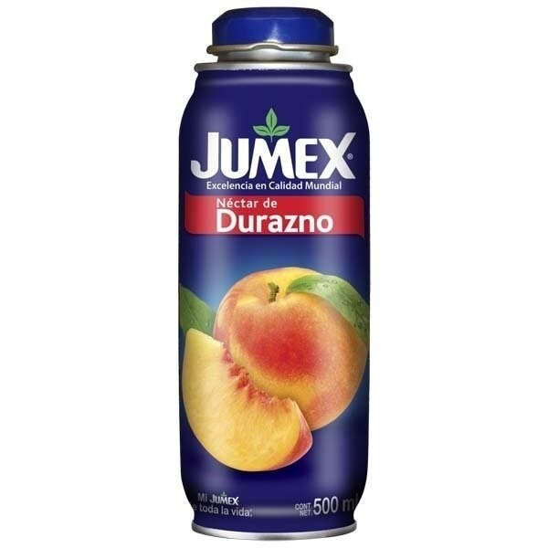 JUGO DE DURAZNO, JUMEX, 500 cc
