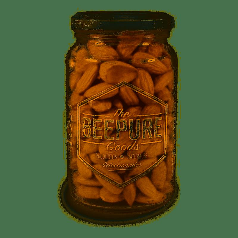 ALMENDRAS, BEEPURE, FRASCO x 190 gr