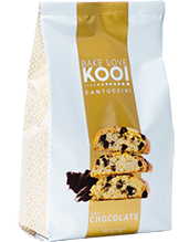 CANTUCCINI CON CHIPS DE CHOCOLATE, BAKE LOVE KOO, 180 gr