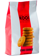 BUTTER COOKIES CHAI, BAKE LOVE KOO, 180 gr