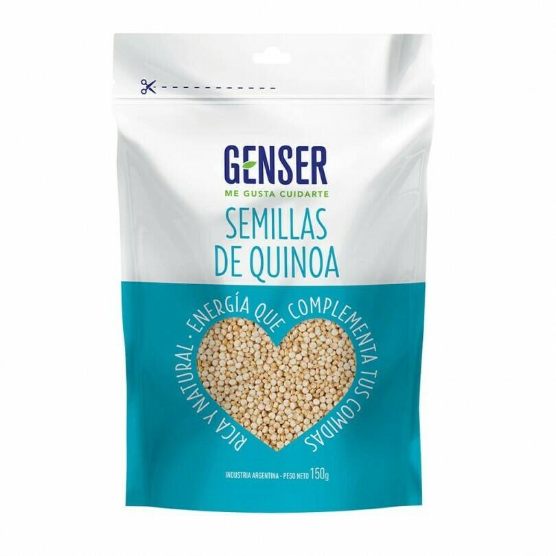 SEMILLAS DE QUINOA, GENSER, 150 gr