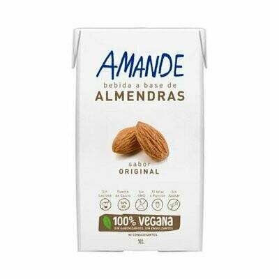 LECHE DE ALMENDRAS, AMANDE, 1 lt