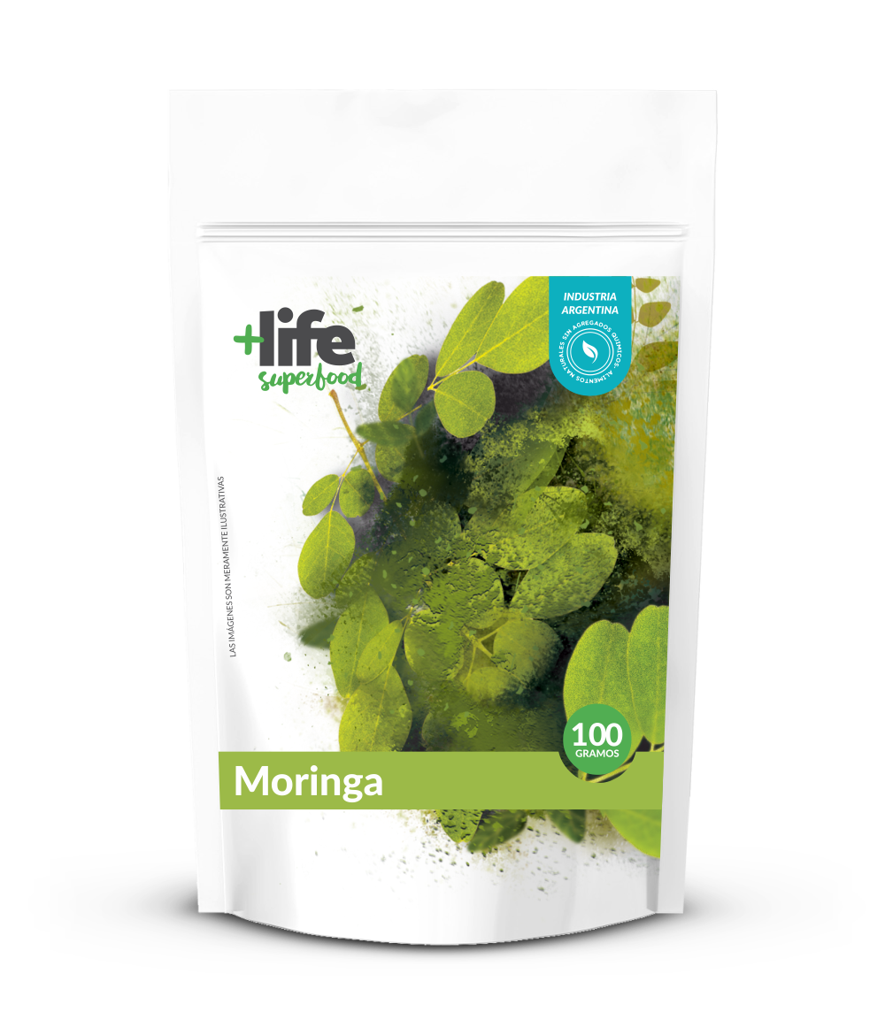 MORINGA, + LIFE SUPERFOOD, 100 gr