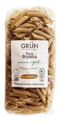 PENNE RIGATTI ORGANICO, GRUN, 500 gr