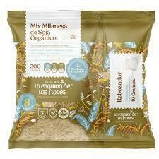 MIX MILANESAS DE SOJA ORGANICO, LA ESQUINA DE LAS FLORES, 300 gr