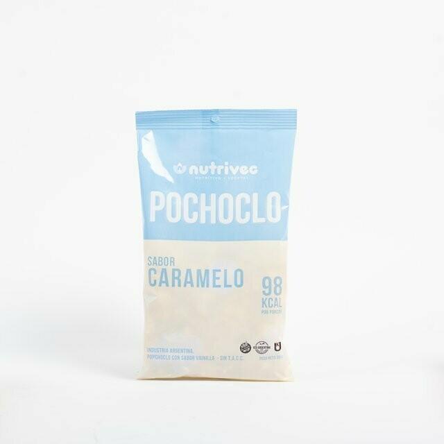 POCHOCLO SABOR CARAMELO, NUTRIVEG, 50 gr