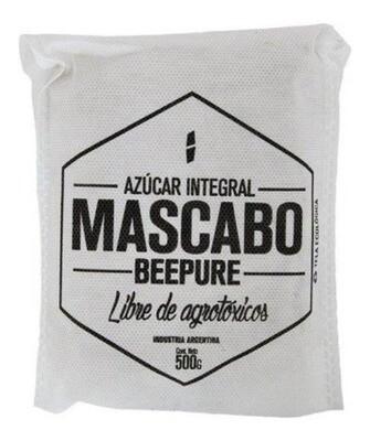 AZUCAR MASCABO, BEEPURE, ECOBOLSA 500 gr