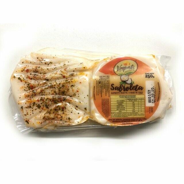 QUESO VEGETAL SABROLETA, VAQUETS, 250 gr