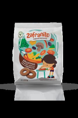 GALLETITAS ORGANICAS SABOR CHOCOLATE, ZAFRANITO, 150 gr