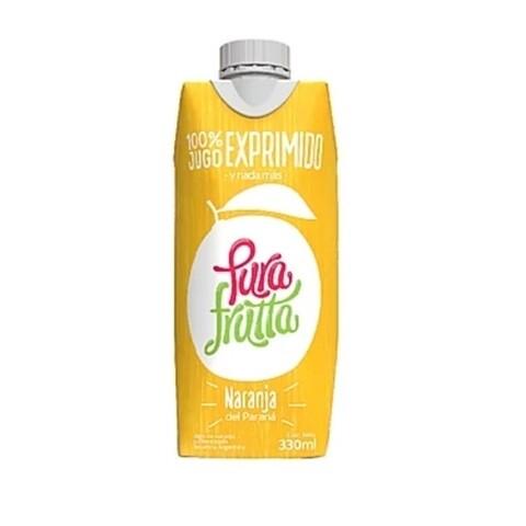JUGO DE NARANJA, PURA FRUTTA, 330 ml