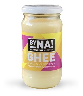 MANTECA GHEE, BYNA, 270 ml