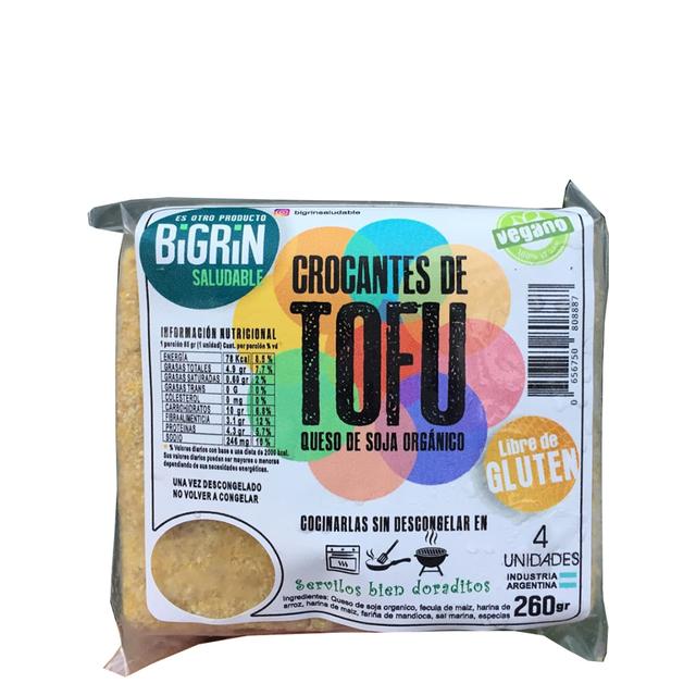 CROCANTE DE TOFU, BIGRIN, 260 gr