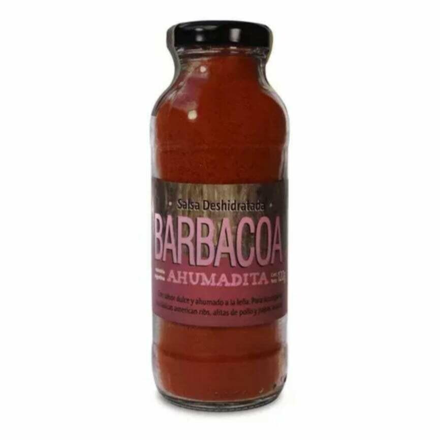 BARBACOA, RICCO SABORES GOURMET, frasco 110 gr