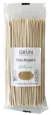 FIDEO TALLARIN ORGANICO, GRUN, 500 gr