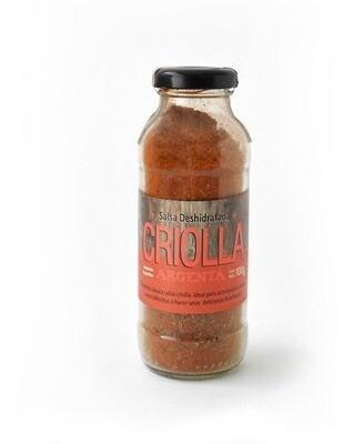 SALSA CRIOLLA, RICCO SABORES GOURMET, frasco 110 gr