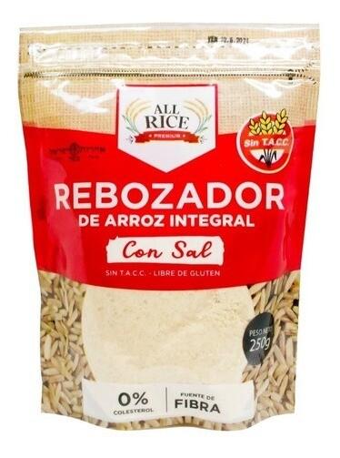 REBOZADOR DE ARROZ INTEGRAL, ALL RICE, 250 gr