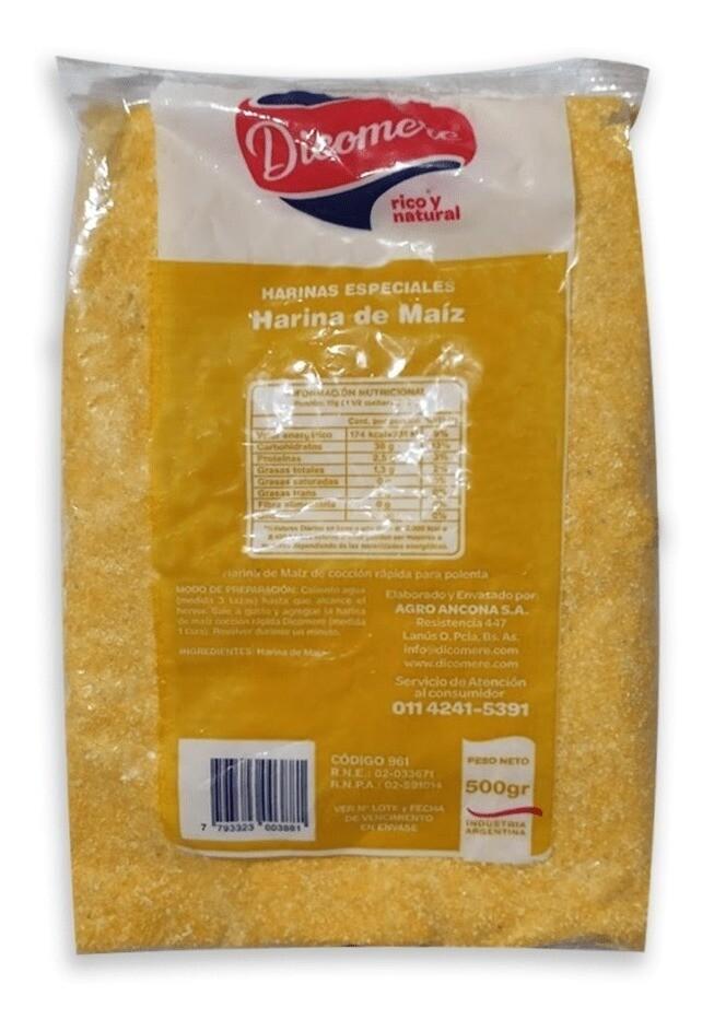 POLENTA ORGANICA, DICOMERE, 450 gr