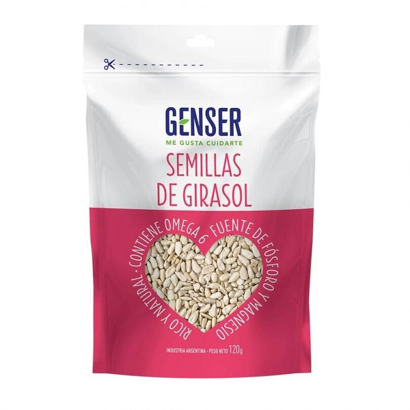 SEMILLAS DE GIRASOL, GENSER, 120 gr