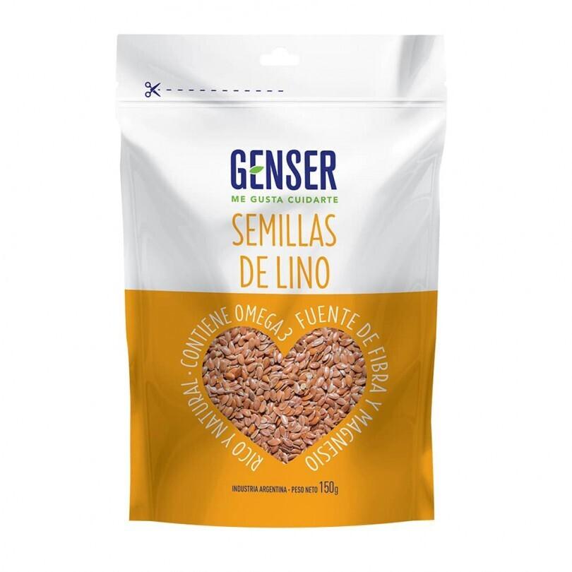 SEMILLAS DE LINO, GENSER, 150 gr