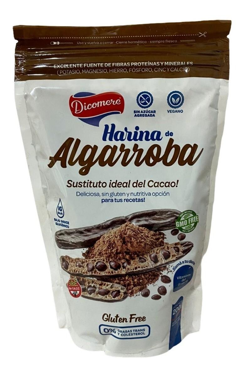 HARINA DE ALGARROBA, DICOMERE, 120 gr