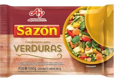 SABORIZADOR PARA VERDURAS, SAZON, 60 gr