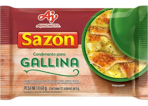 SABORIZADOR PARA GALLINA, SAZON, 60 gr