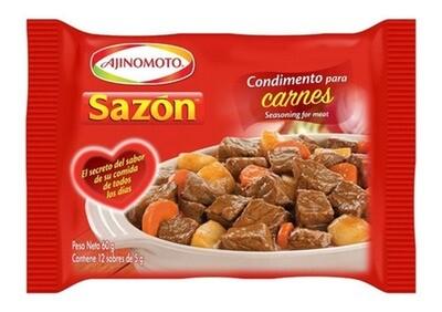 SABORIZADOR PARA CARNE, SAZON, 60 gr
