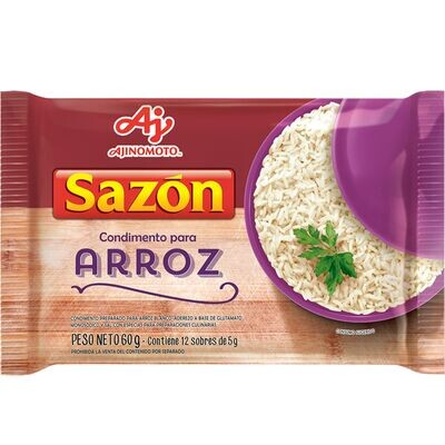 SABORIZADOR PARA ARROZ, SAZON, 60 gr