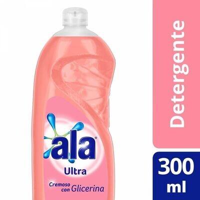 DETERGENTE CREMOSO CON GLICERINA, ALA, 300 ml