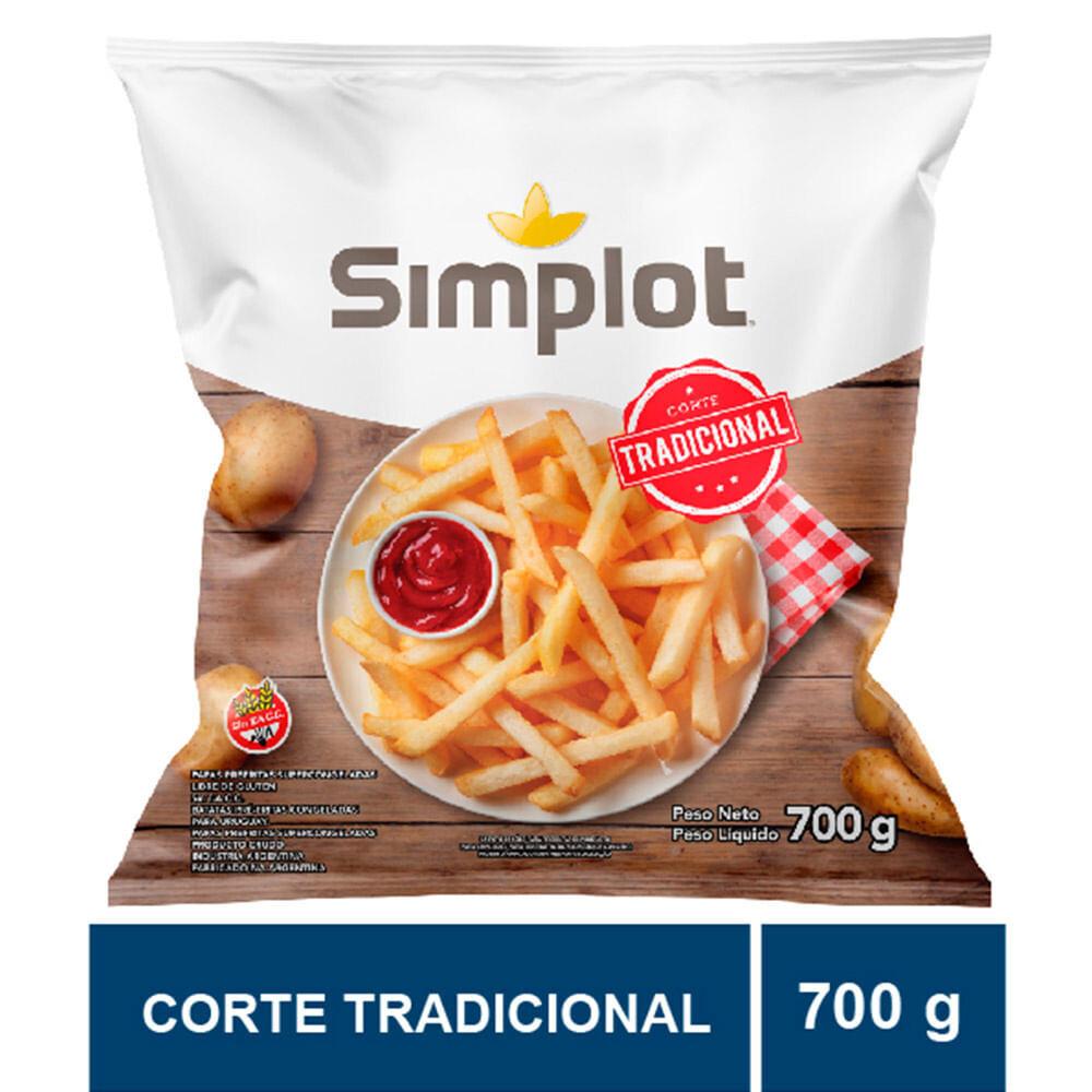 PAPAS FRITAS CONGELADAS, SIMPLOT, 700 gr