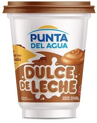 DULCE DE LECHE FAMILIAR, PUNTA DEL AGUA, 400 gr