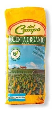 POLENTA ORGANICA, DEL CAMPO, 500 gr
