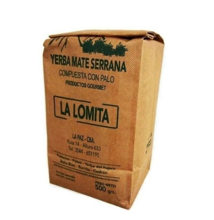YERBA MATE SERRANA, LA LOMITA, 500 gr