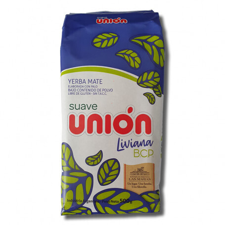 YERBA MATE SUAVE, UNION, 500 gr