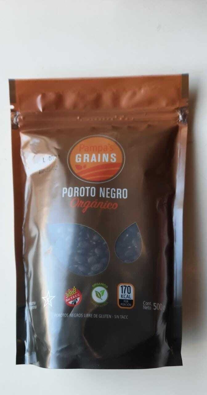 POROTOS NEGROS, PAMPA RICE, 500 gr