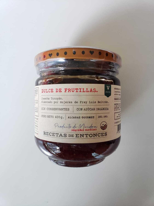 DULCE DE FRUTILLA, ALCARAZ, 400 gr