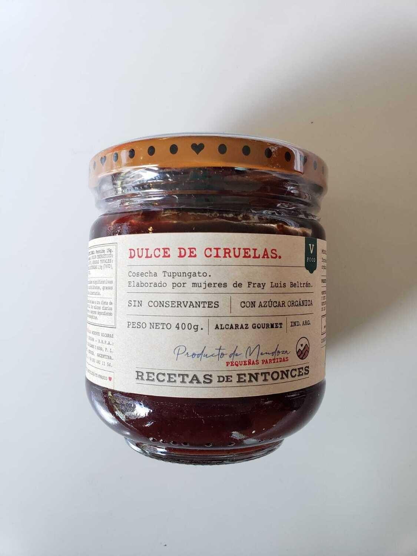DULCE DE CIRUELA, ALCARAZ, 400 gr